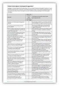 Checkliste Kundengewinnung